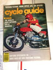 Cycle Guide Magazine June 1978 LAVERDA  YAMAHA YZ250
