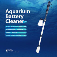 NEW Aquarium Gravel Cleaner Battery Powered Fish Tank Vacuum Water Changer 4694