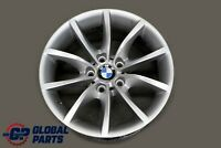 "BMW 5 Series E60 E61 Silver Alloy Wheel Rim 17"" 8J ET:20 V-Spoke 245 6777348"
