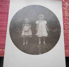 Spielzeug- & Kinder-Echtfotos aus Deutschland vor 1914