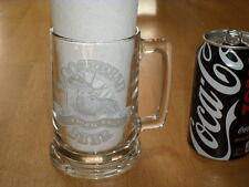 MOOSEHEAD CANADIAN LAGER BEER, Clear Glass, 16 oz. Beer Mug, Vintage