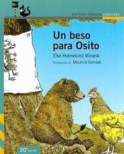 Un beso para Osito (Spanish Edition)-ExLibrary