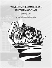 COMMERCIAL DRIVER'S MANUAL FOR CDL TRAINING (WISCONSIN) ON CD in PDF program.
