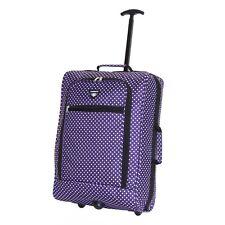 Slimbridge Montecorto Cabin Trolley Bag Purple Dots