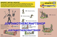 Britains Swoppets British Infantry 1960's A3 Poster Advert Shop Sign Leaflet