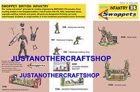 Britains Swoppets British Infantry 1960's A3 Poster Advert Shop Sign Leaflet