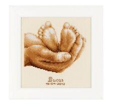 Baby Feet Sampler - Cross Stitch Chart - FREE POST