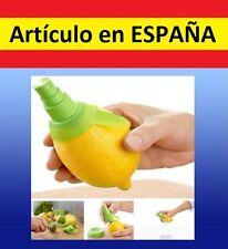 SPRAY Pulverizador zumo d LIMON Naranja gadget sprai citricos exprimidor difusor