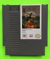 Nintendo NES - INFILTRATOR - Excellent Condition! Tested and Cleaned