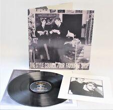 STYLE COUNCIL (PAUL WELLER) 'Our Favourite Shop' 1985 LP + Inner & Photo - B47