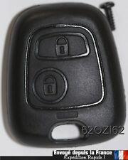 Coque Plip Clé Télécommande Peugeot 106/206/107/207/307/406/407 (key car)