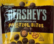 NEW HERSHEY'S MILK CHOCOLATE PRETZEL BITES 7.5 OZ (212g) RESEALABLE BAG BUY NOW