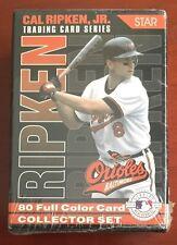 CAL RIPKEN JR 1995 Star Co BOXED Sealed 80 Card #'d Collector SET 2,131 Game