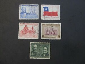 CHILE - LIQUIDATION STOCK - EXCELENT GROUP OF OLD STAMPS - 3375/14
