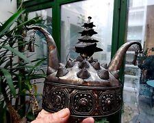 CHAPEAU COIFFE CEREMONIELE MIAO CHINE DU SUD HAT