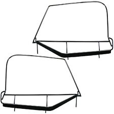 1997-2006 Jeep Wrangler Soft Top Steel Upper Door Frames Driver & Passenger Pair