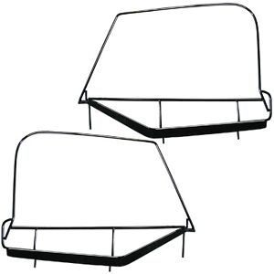1997-2006 Jeep Wrangler Soft Top Steel Upper Door Frames Driver & Passenger Pair