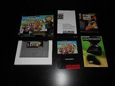 Super Mario Kart Game Complete SNES Super Nintendo CIB Players Choice