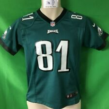 J408 NFL Philadelphia Eagles Matthews #81 Nike Game Jersey Youth Medium 10-12