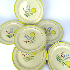 Arabia of Finland 60er Pusteblume 6x Teller Windflower 6x Dinner Plate Set 1960s