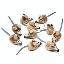 Holz- Mäuse ca. 4cm, 10 Stück, Holz-Maus, Handarbeit !!!