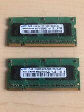 Memory Ram 4 Lenovo ThinkPad Laptop G41 P4-M 2881 2882 2886 R50 R50e 2x Lot
