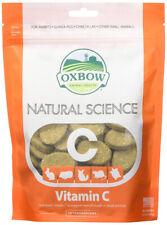 Oxbow natural Science vitamina C para animales Pequeños - 60 pastillas de heno