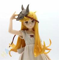 Anime Oshino Shinobu EXQ PVC Figure Model Toy 21cm Collection No Box Xmas Gift