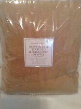Restoration Hardware Belgian Heavy Textured Linen Drapery 50x108 Wheat
