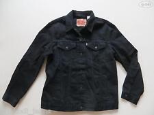 Levi's® Biker Jacke Jeansjacke Gr. XXL, schwarz, Original Black Denim, wie NEU !
