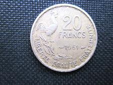 20 Francs Guiraud 1951      TTB