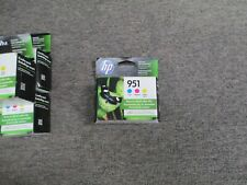CR314FN NEW Genuine HP 951 Cyan Magenta Yellow Ink Combo Pack 09/2021