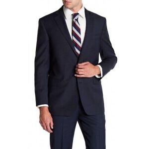 Brooks Brothers 158246 Men's Notch Collar Front Button Jacket Navy Sz. 44R