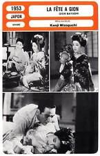 FICHE CINEMA : LA FETE A GION - Kenji Mizoguchi 1953 Gion matsuri