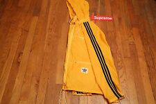 ADIDAS JACKET WINDBREAKER RAIN RUNNIER VINTAGE RARE 90S YELLOW/BLACK SIZE M