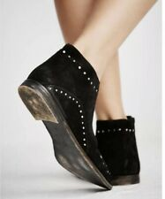 People Women's Aquarian Ankle Boot BOOTS 36 European Black