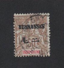 Ancienne Colonie Yuannanfou N°12 50 c oblitéré