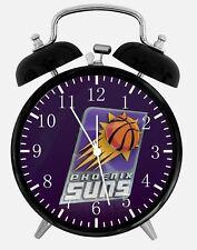"Phoenix Suns Alarm Desk Clock 3.75"" Home or Office Decor Z143 Nice For Gift"