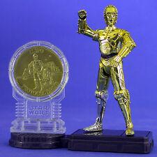 Star Wars Raro Milenio Minted acuñado C-3PO USA EXCLUSIVE TOYS R figura.C10 US