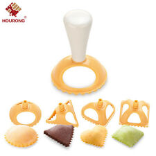 4 X Kitchen Plastic Dough Press Maker Dumpling Pie Ravioli Pastry Making Mold