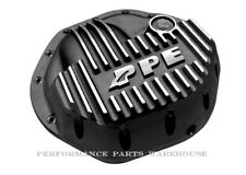 PPE FRONT AXLE COVER 03-14 RAM 2500; 03-12 RAM 3500 - BLACK / BRUSHED