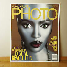 "NAOMI CAMPBELL ""Robot"" American Photo Mag Cover Repro Poster 24.75 x 29.25 RARE!"
