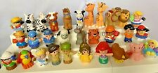 LOT of 30 Fisher Price Little People Army Service Disney Nativity Ark Animals