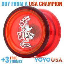 Duncan Butterfly XT Yo-Yo - Red + FREE STRINGS