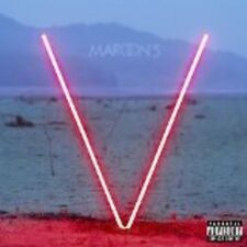 Maroon 5 - V [New Vinyl] Explicit, Red, Colored Vinyl