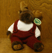 "Bearington Plush #1492 MILO, 9"" Tall jointed From Retail Store, NEW/tags MOOSE"