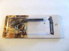 "Remington 870 Shotgun Keychain-Cross Fire 2.5""Gun-Military & Law Weapon Free S/H"