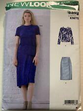 New Simplicity Sewing Pattern R10286 / N6646 Misses Skirt & Top Sz. 8-20