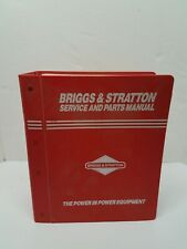 Briggs Amp Stratton Engine Service And Parts Manual July 1993 Vintage