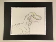 Cadillacs and Dinosaurs Animation Art Cell Drawing 1993-94 1